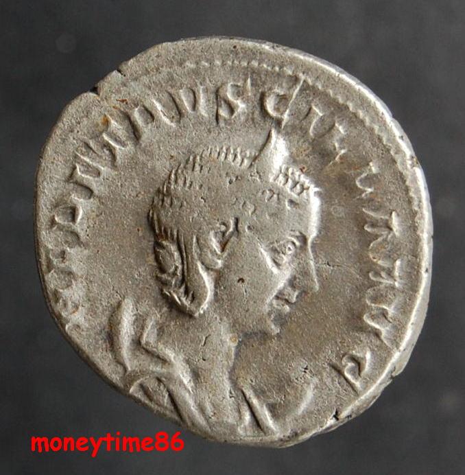 Antoninien d'HERENNIA ETRUSCILLE revers Pudicitia