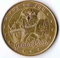 Dpt 85 . Le puy du Fou Grand Parc 2000