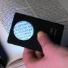 Loupe LEd format carte bancaire