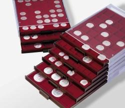 Médaillier à compartiments carrés bords fumés