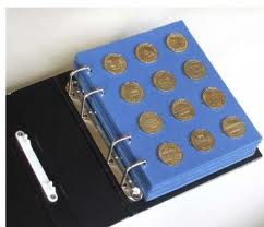 Page album pour médailles touristiques