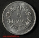 5 francs Lavrillier aluminium 1946