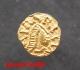 Triens d'or jaune pour le monétaire Patricius